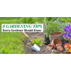 Tips every gardener should know
