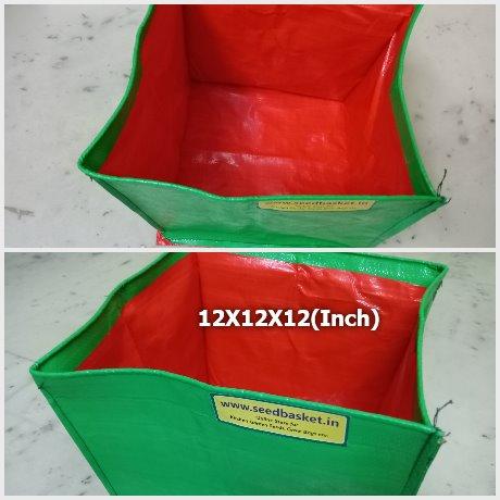 HDPE Grow Bag 12X12X12