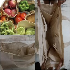 Eco Friendly Vegetable Jute Bag