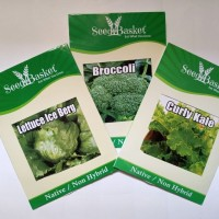 Exotic vegetable seeds - pack of 3